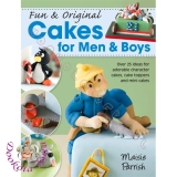 Książka CAKES FOR MEN & BOYS Maisie Parrish
