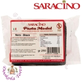 SARACINO Masa do modelowania figurek czarna NERA BLACK 250g