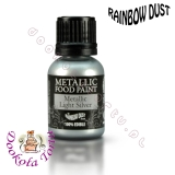 RAINBOW DUST farbka - srebrna jasna LIGHT SILVER