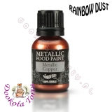 RAINBOW DUST farbka - miedziana COPPER
